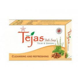TEJAS TULSI AND SANDAL BATH SOAP - 75gm