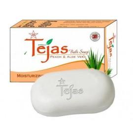 TEJAS PEACH AND ALOEVERA BATH SOAP - 75gm