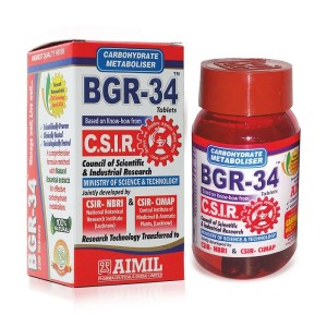BGR-34 TABLETS - 100's