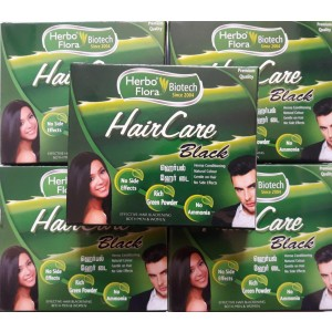 Herbal hair dye (hair care black)
